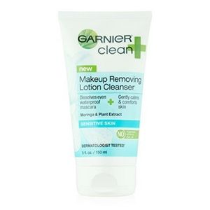 Garnier Clean + Makeup removing lotion cleanser